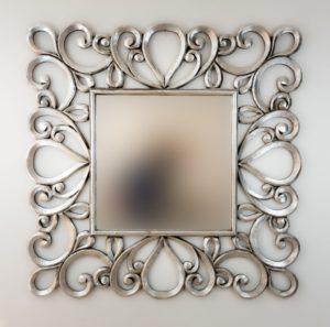 Espejo Almora Plata (envejecida)
