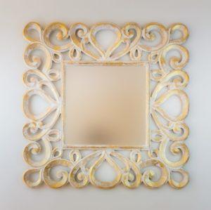 Espejo Almora Pan de oro
