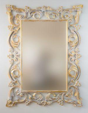 Espejo Gada Warta Pan de oro
