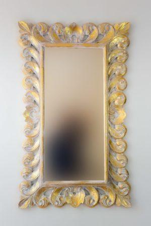 Espejo Bolong Kadek Pan de oro