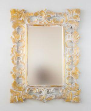 Espejo Colonial Classic Pan de oro