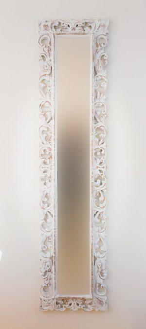 Espejo Español Long Blanco (envejecido)