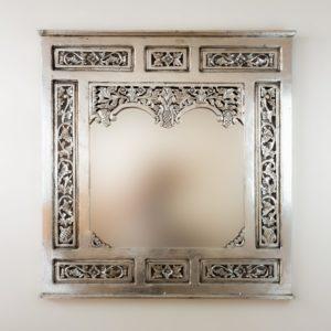 Espejo Nanas Teca Plata (envejecida)