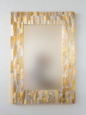 Espejo Catak Bendy Pan de oro