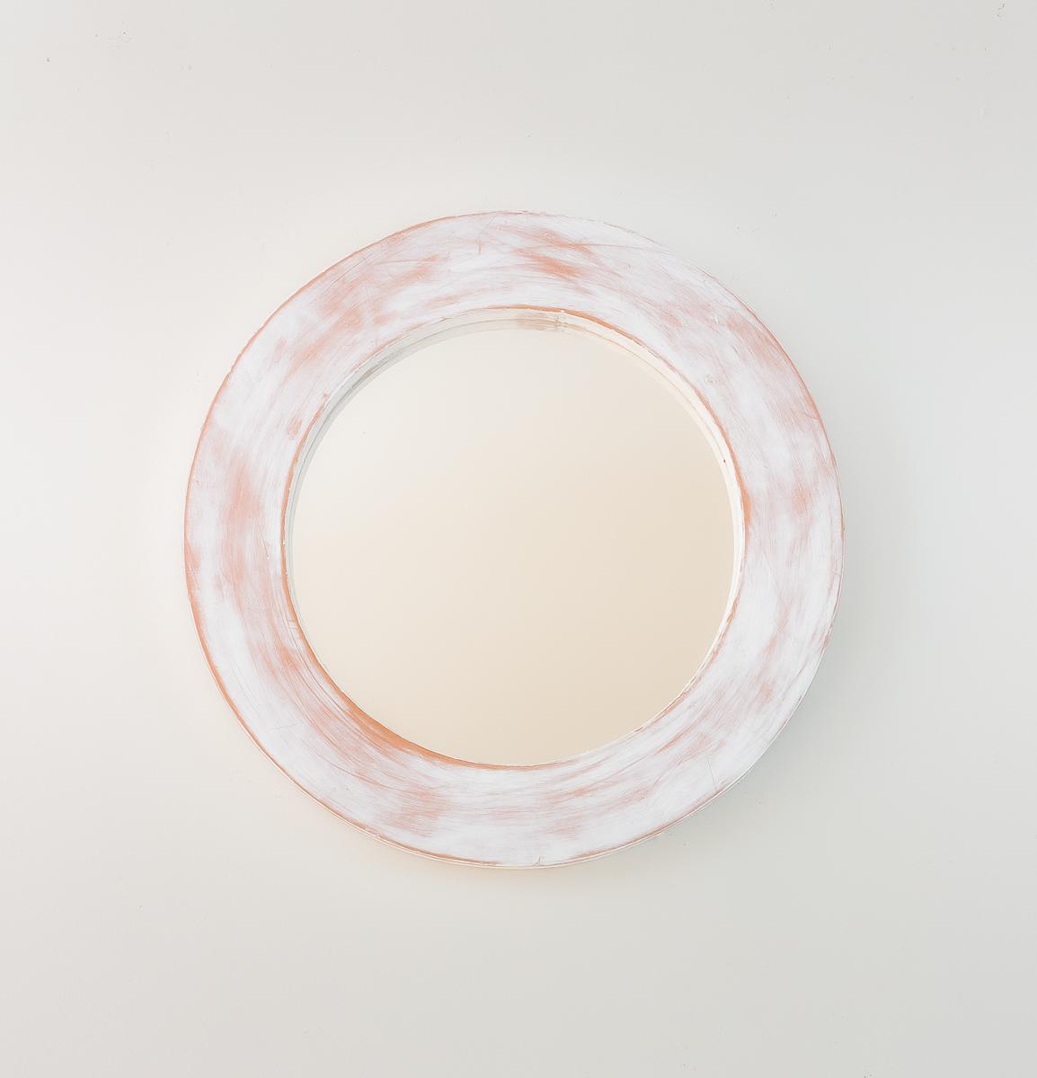 Espejos decorativos round polos set 3 60 30 44 blanco for Espejos decorativos blancos
