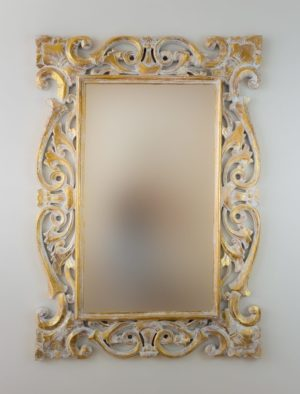 Espejo Tanduk Pan de oro