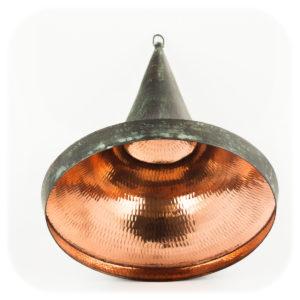 Lámpara Cone 30 cm negra-verde (techo) negro-verde (ácido)