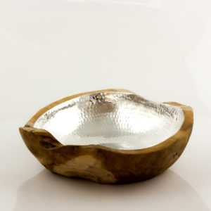 Bowl Eclipse Plate 30 cm aluminio/natural