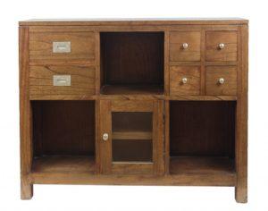 Mueble Entrada de madera Indira de 100x80cm