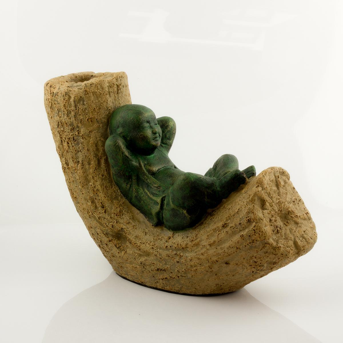 Figura Shaolin Wood Relax según imagen