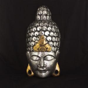 Máscara Nayeli 50cm plata