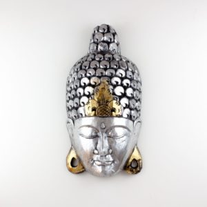Máscara Nayeli 40cm plata