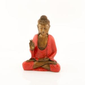 Figura Buda Cakra rojo rojo