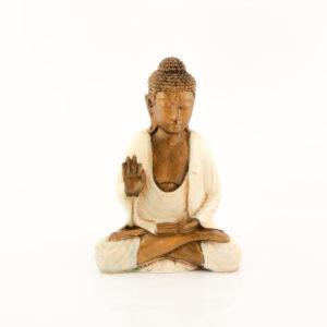 Figura Buda Cakra crema crema