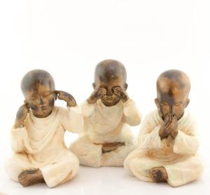 Figura Shaolin DBM crema 23cm crema
