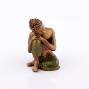Figura Buda Relax rojo 15cm rojo