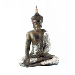 Figura Buda Thai 65cm plata