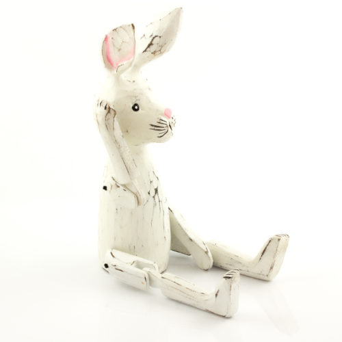 Figura Conejo 30cm blanco