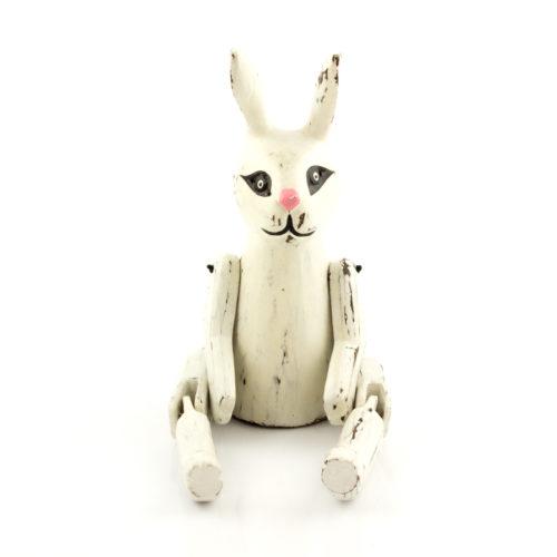 Figura Conejo 20cm blanco