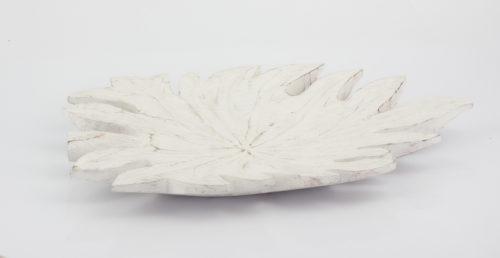 Figura Hoja (Pequeña) blanco