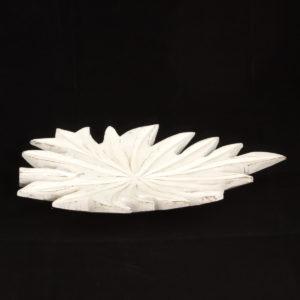 Figura Hoja (Grande) blanco