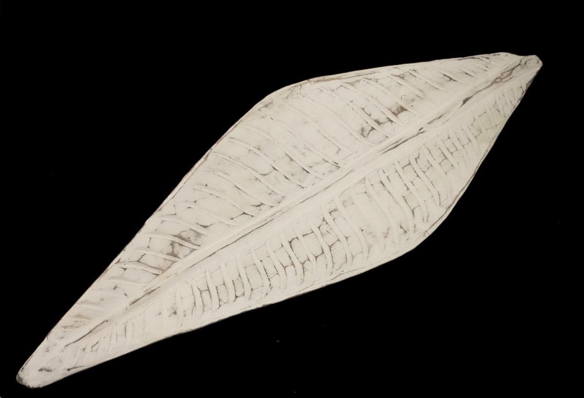 Centro de mesa Banana Leaf blanco