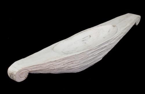 Centro de mesa Sail boat blanco