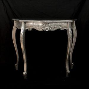 Consola Carving plata (envejecida)