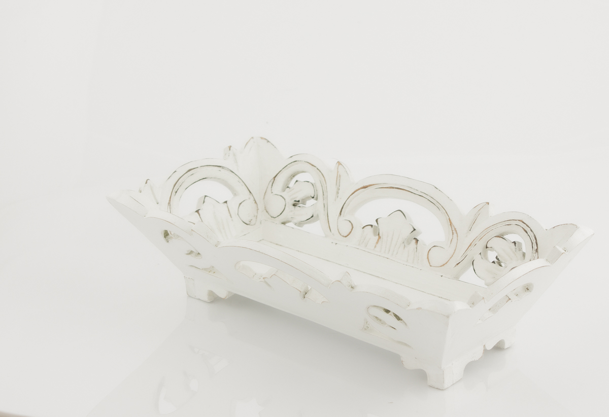 Bandejas Wulan blanca blanco