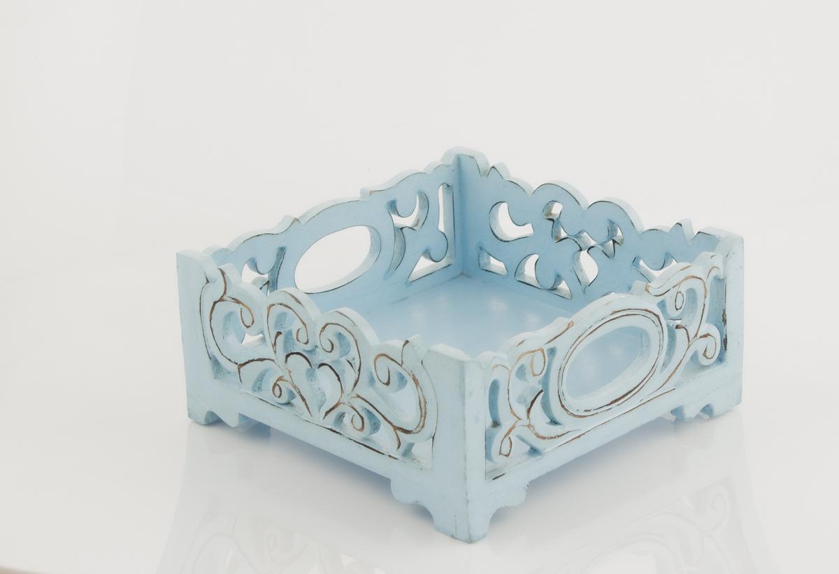 Servilletero Wangi azul azul
