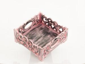 Servilletero Wangi rosa rosa