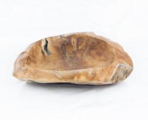 Bol de madera de teca