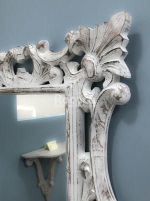 Espejo Eiffell Blanco (envejecido)