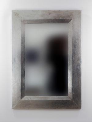 Espejo de pared decorativo Flat Miring Oro (envejecido) de 100cm.