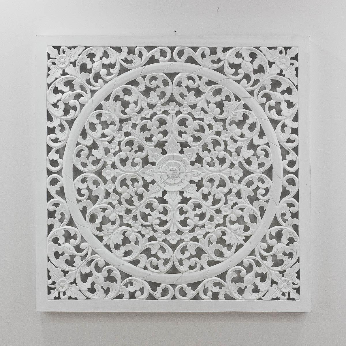 Mandala de madera de 100cm