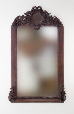 Espejo de pared decorativo Roman Greeco Erosi Brownie de 150cm.
