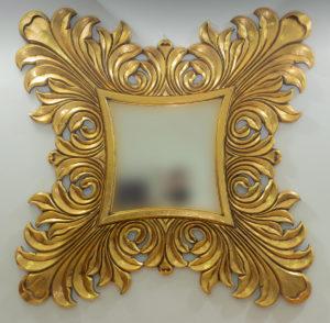 Espejo decorativo pan e oro