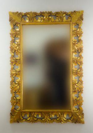 Espejo de pared decorativo Colonial Classic Oro (envejecido) de 120cm.