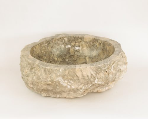 Lavabo de marmol jaspeado (imagen real). De aprox.  50x40cm piezas únicas | mirococo.com