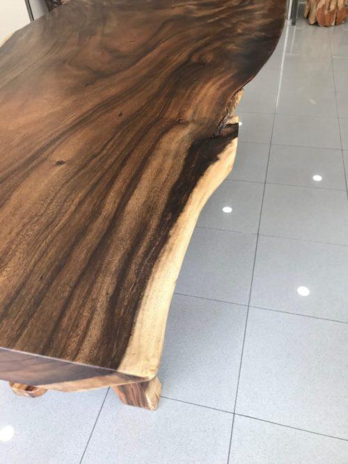 Mesas suar macizas de una pieza