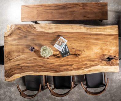 Mesas dde suar de madera maciza