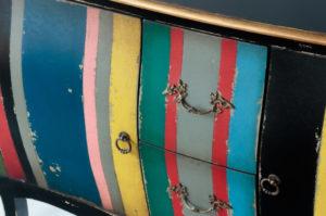 Aparador Vintage Bombay de 2 puertas y 2 cajones de 120cm | Rococo