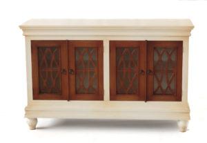 Aparador Vintage de 4 puertas y 150cm | Rococo