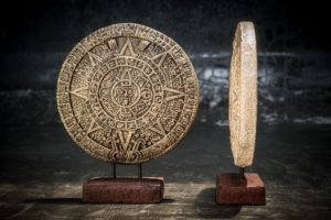Calendario Maya bronce