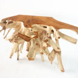 Muebles de raíz de árbol de teca