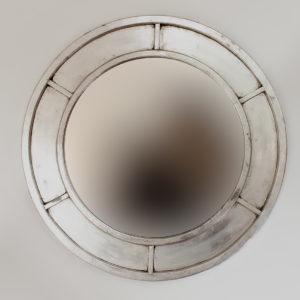 Espejo de pared decorativo Round Mabeled de 80cm SL de 80x80cm. Rococó