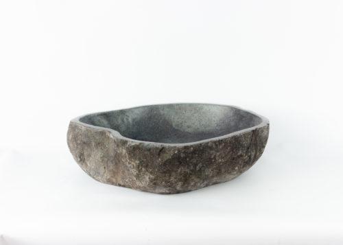 Lavabo natural de piedra de rio (imagen real)  55x42cm piezas únicas   mirococo.com