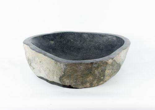 Lavabo natural de piedra de rio (imagen real)  56x52cm piezas únicas | mirococo.com