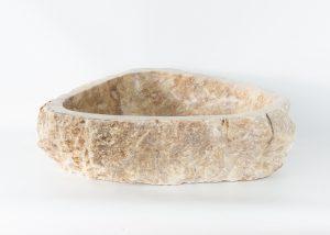 Lavabo forma irregular de piedra de Ónyx (imagen real)  53x45cm piezas únicas   mirococo.com