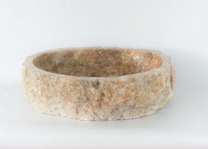 Lavabo forma irregular de piedra de Ónyx (imagen real)  55x44cm piezas únicas | mirococo.com